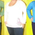 Usando o modelo e o tamanho certo, a roupa justa fica muito bem em qualquer tipo de corpo.