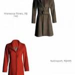 No site da revista Cláudia também tem a Pesquisa de Mercado. Nesse exmplo, casacos parecidos custam R$ 740,00 e R$ 495,00, uma diferença considerável.